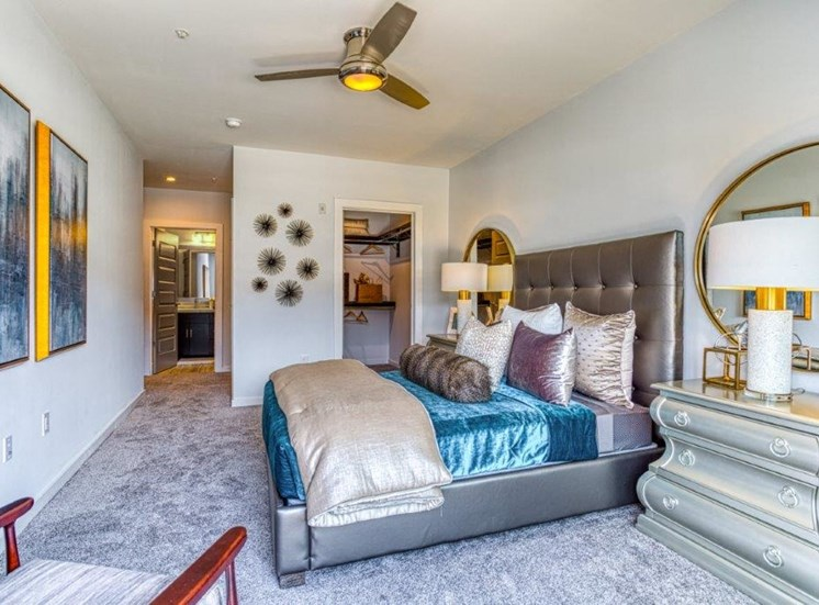 Spacious Bedrooms at Carroll at Bellemeade, Greensboro