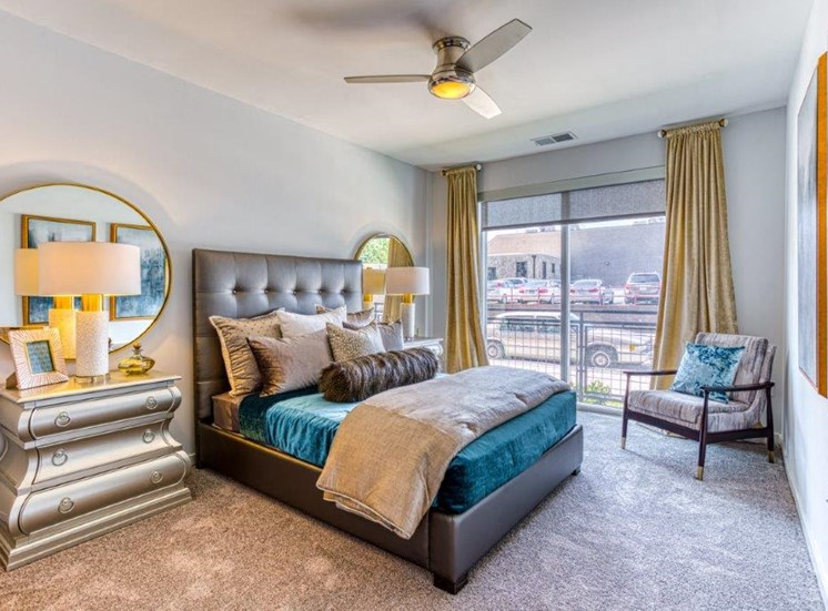 Spacious Bedrooms at Carroll at Bellemeade, Greensboro, NC 27401