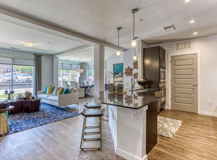 Open Floor Plan at Carroll at Bellemeade, Greensboro, NC 27401