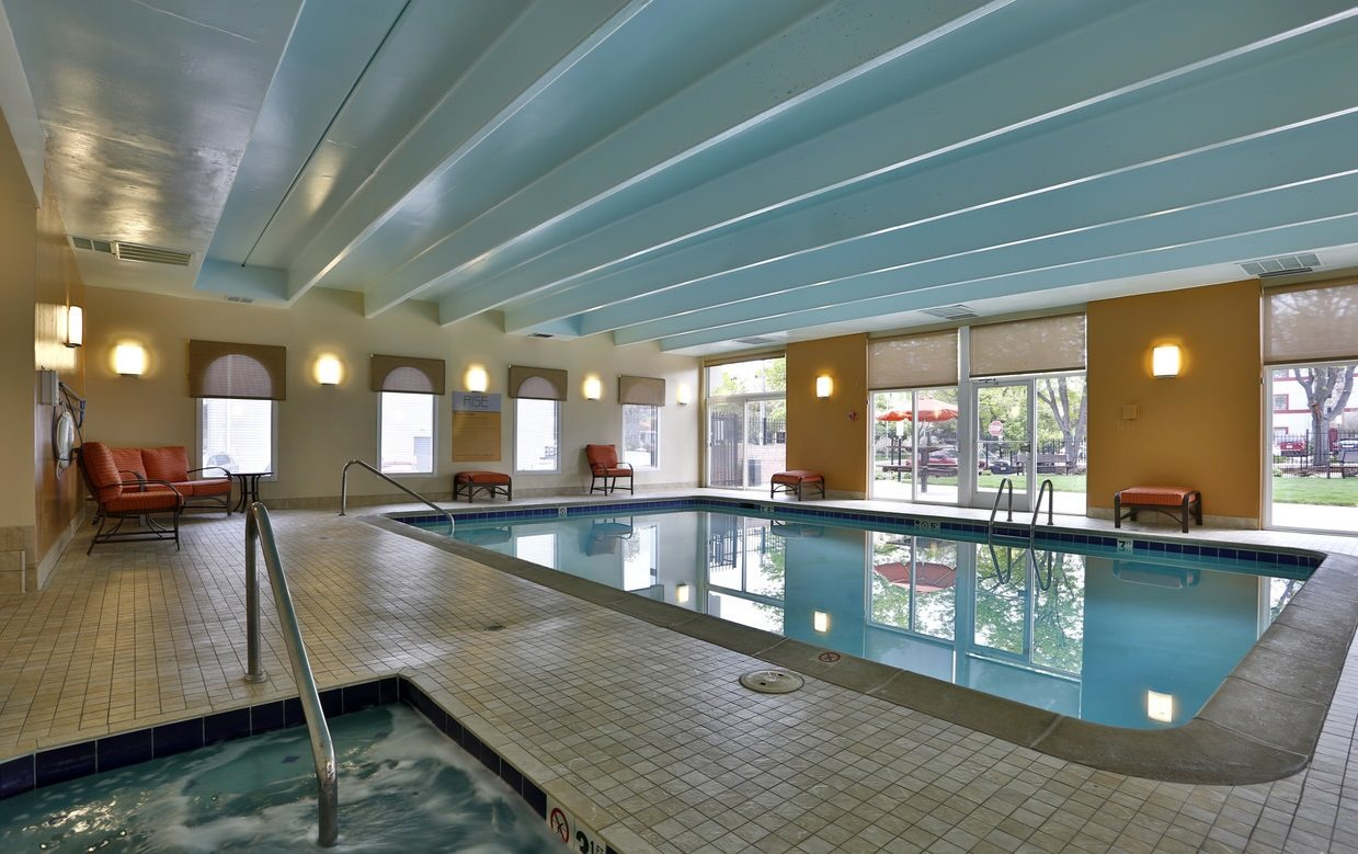 Rise indoor pool and spa in Denver, CO