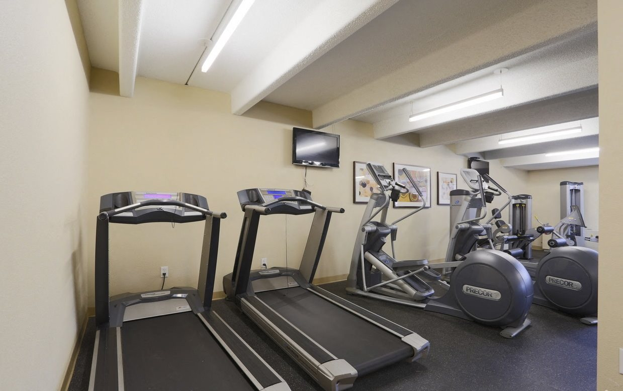 Rise cardio equipment in the fitness center in Denver, CO