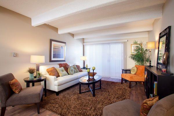 Edge spacious living room in Denver, CO