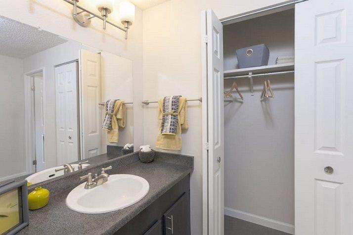 Bathroom at  Vue in Denver, CO