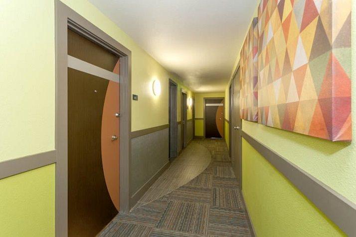 Hallway at Vue in Denver, CO