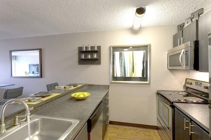 Upgraded kitchen at Vue in Denver, CO