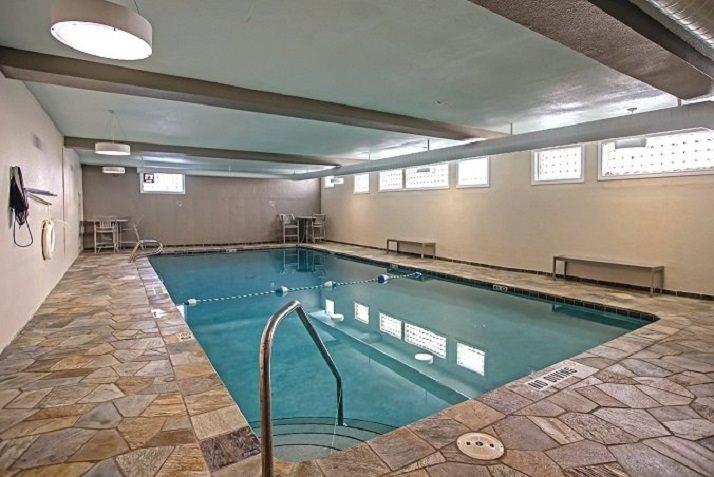Indoor pool at Vue in Denver, CO