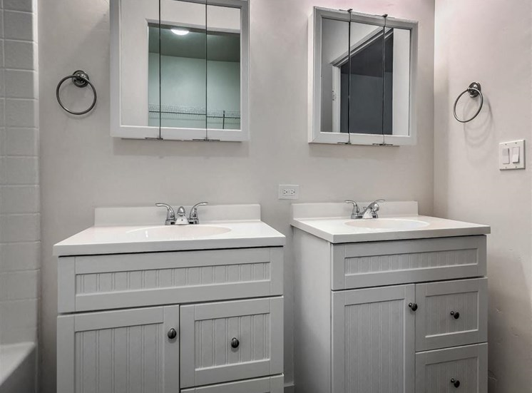 Renovated Bathrooms With Quartz Counters at Verraso Village, Meridian, ID, 83642