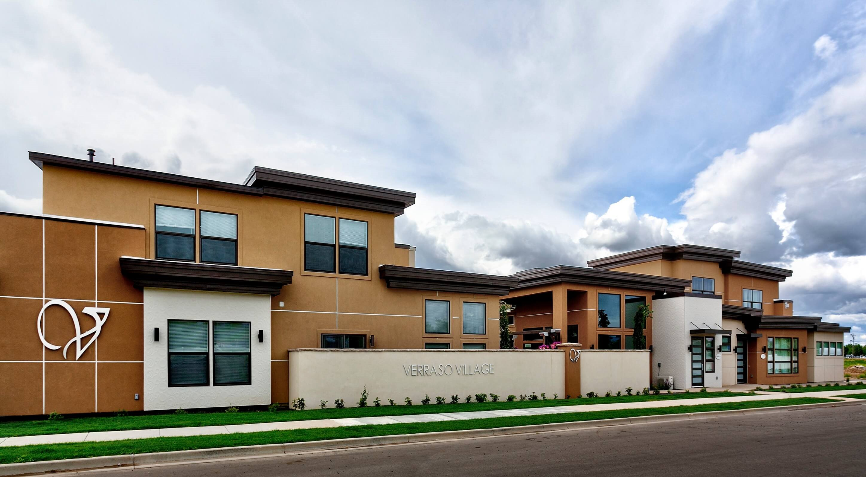 Elegant Exterior View at Verraso Village, Meridian, ID, 83642