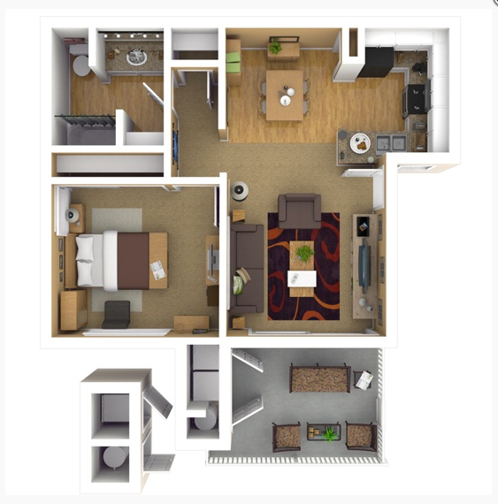 Floor Plans Of The Highlands At Grand Terrace In Grand