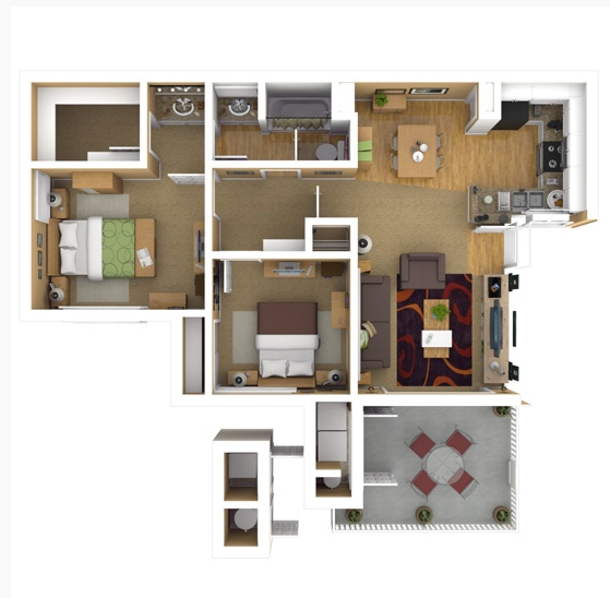 Grand Terrace Apartments: Floor Plans Of The Highlands At Grand Terrace In Grand