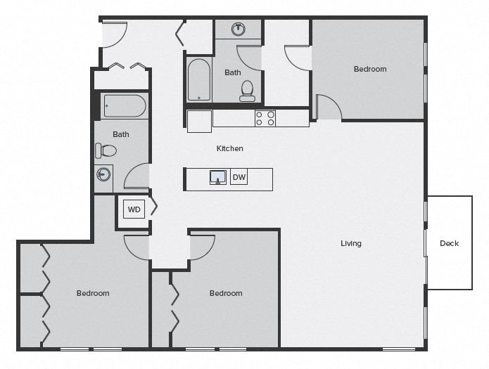 Sparc Floor Plan 3x2 1476sf