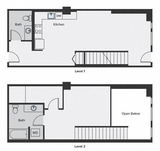 Sparc Floor Plan live work 1164sf