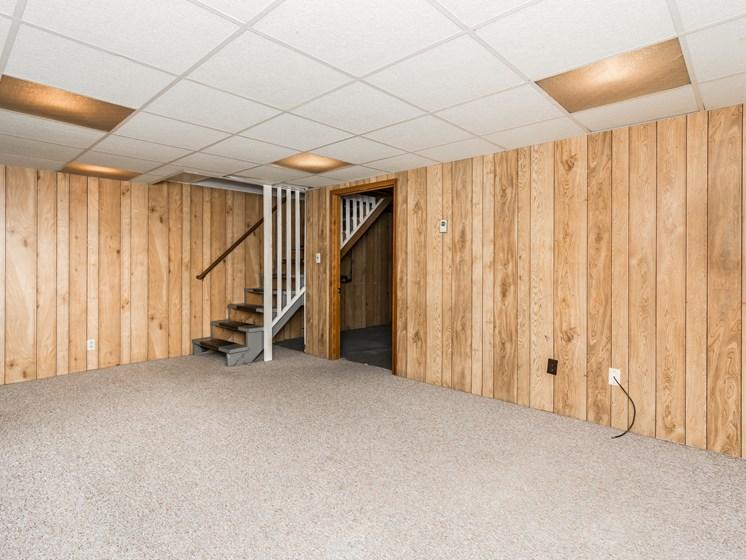 Valley Home Duplexes | Basement