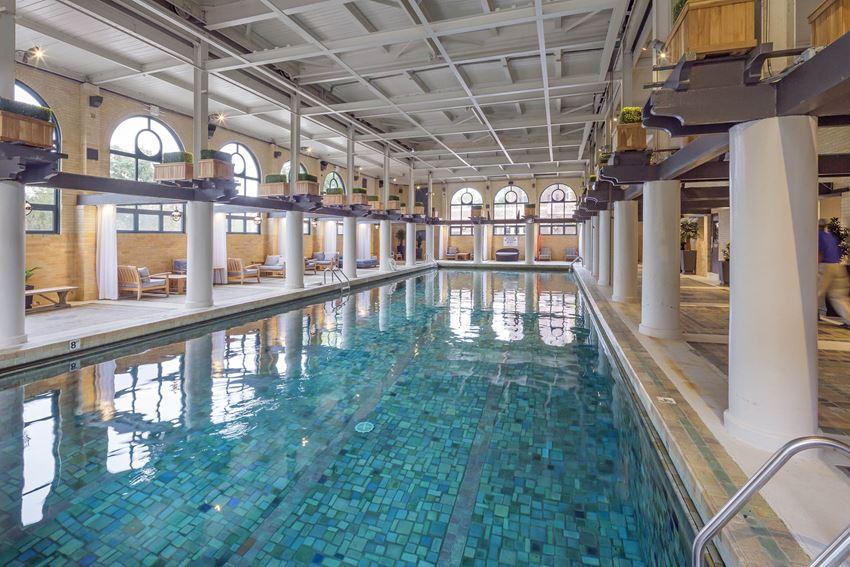 Alden Park indoor pool.