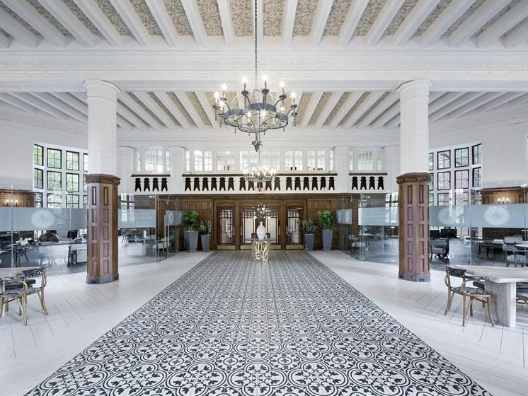 Alden Park lobby.