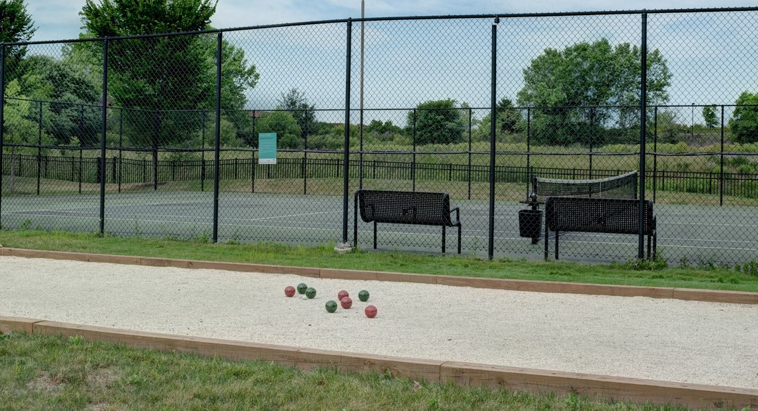 On Site Tennis Court, at Valley Lo Towers, Glenview, IL 48104