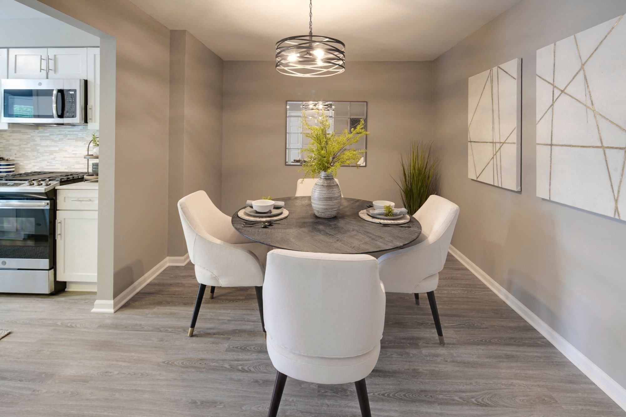 Defined Dining Space, at Valley Lo Towers, Glenview