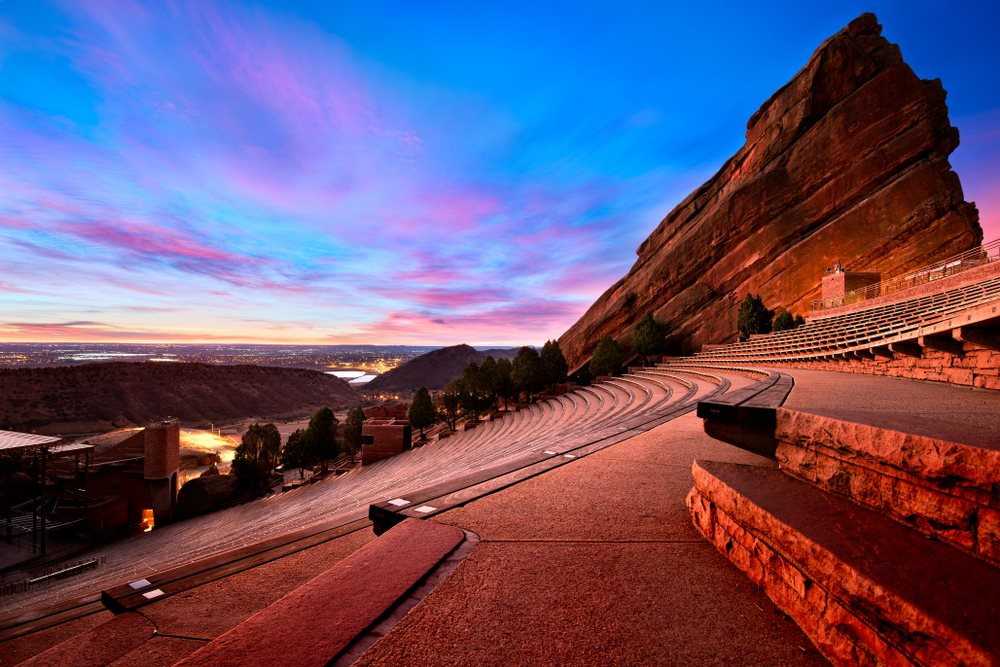The Modern Lakewood Red Rocks Amphitheater