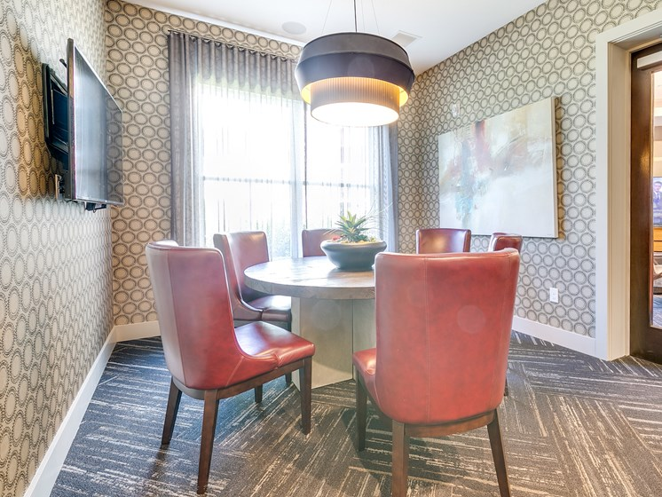 Meeting Space at The Flats at Ballantyne Apartments, Charlotte, North Carolina
