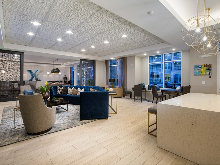 Modern Yet Classic Design at The Flats at Ballantyne Apartments, Charlotte, 28277