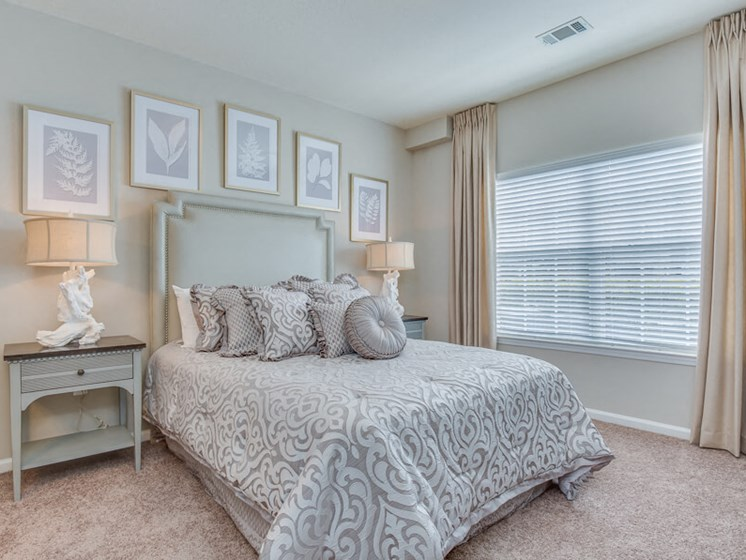 Master Bedroom Feels Large and Spacious with Impressive 9 Foot Ceilings and Large Walk-In Closets at Reserve Bartram Springs, Jacksonville, FL, 32258