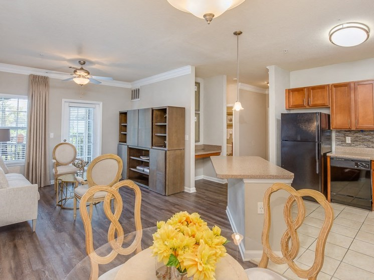 Wide Open Floor Plan with 360 View of Entire Living Space at Reserve Bartram Springs, Jacksonville, FL, 32258