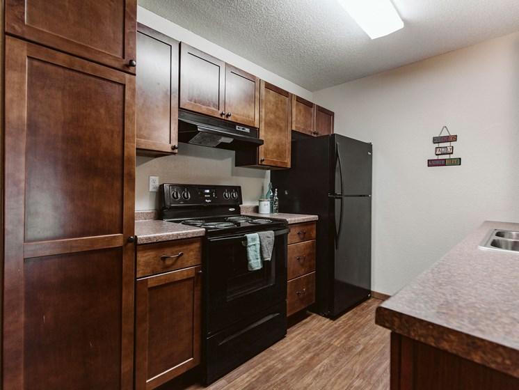 Grandview II Apartments   Kitchen