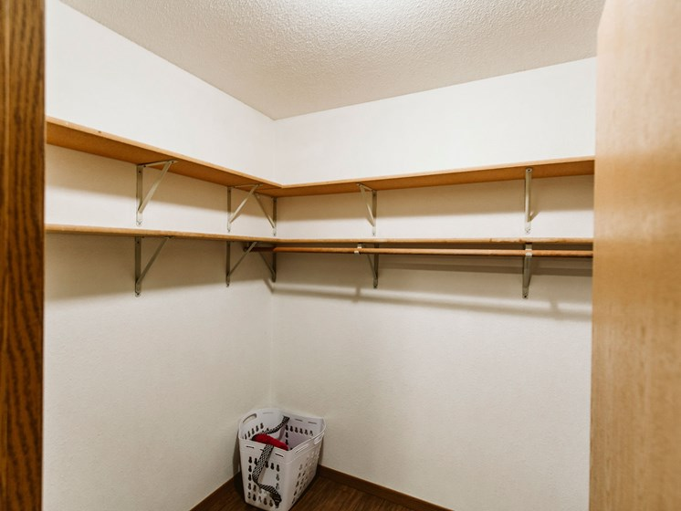 Grandview II Apartments   Storage Closet