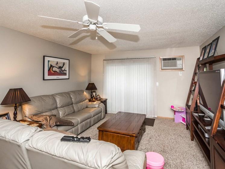 Vista Apartments   Living Room
