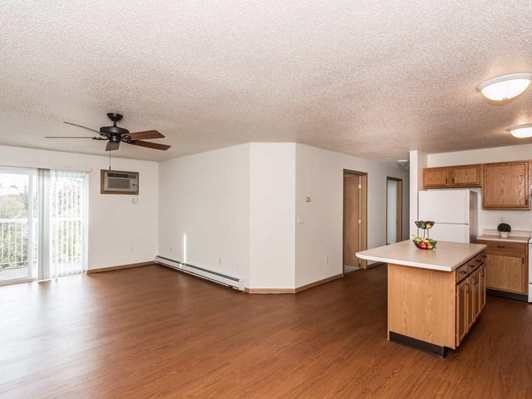 Vista Apartments   Kitchen - Living Room