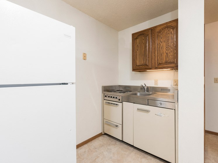 Garden Grove Apartments | Efficiency-Kitchen