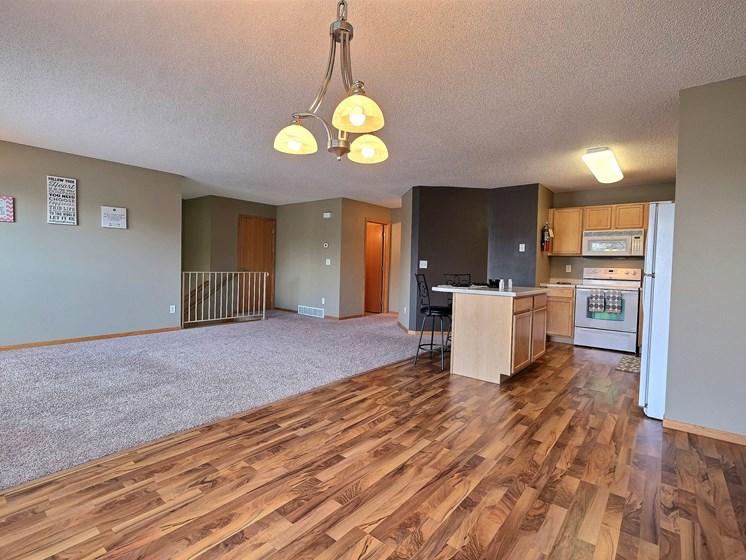 Townhomes at Mallard Creek   3 Bedroom   Living Room   Dining