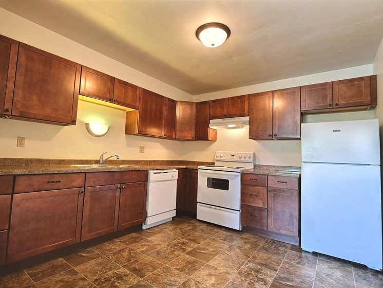 Spring Apartments | 2 Bdrm - Kitchen