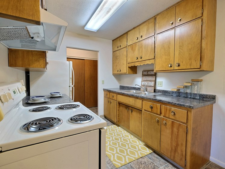 Woodland Apartments | 2 Bdrm - Kitchen