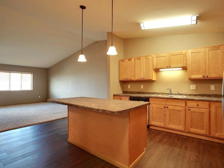 Urban Plains Apartments | 1 Bdrm-Plan A-Kitchen