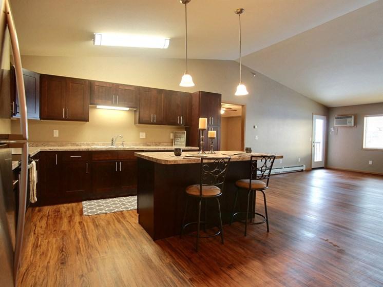 Urban Plains Apartments | 2 Bdrm-Plan A-Kitchen