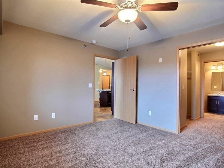 Urban Plains Apartments | 2 Bdrm-Plan A-Mstr Bdrm