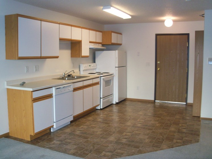 Parkside Apartments | Efficiency - Kitchen