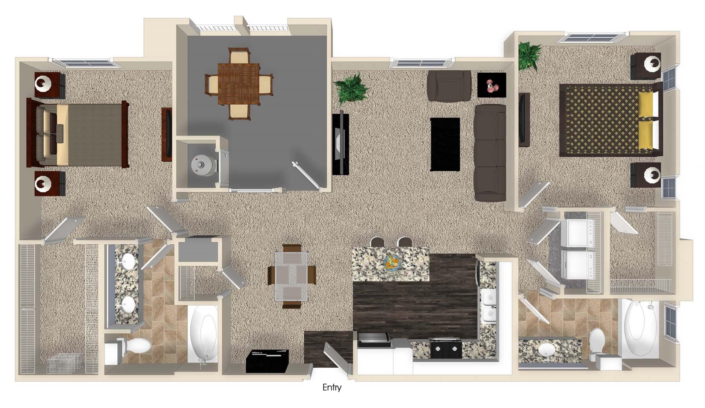 B3 Floor Plan 1