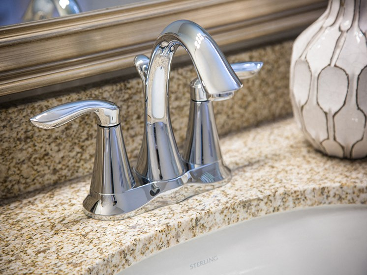 Model Sink Fixtures Espresso Finish