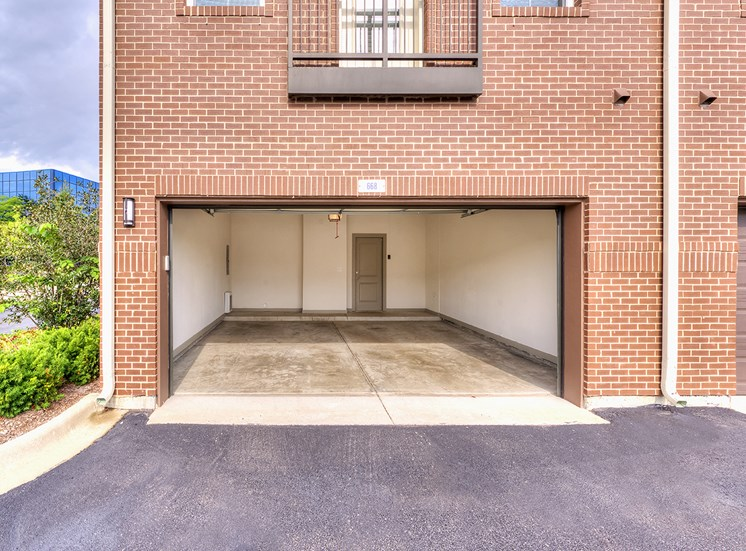 Two Bedroom Townhome Garage