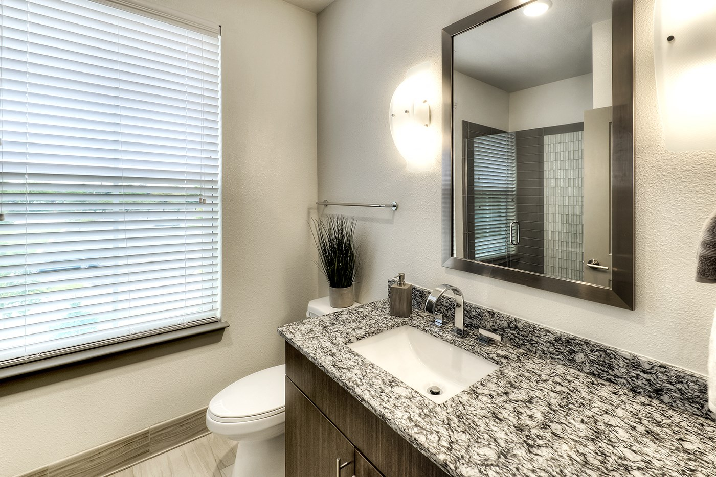 Two Bedroom Townhome Guest Bathroom