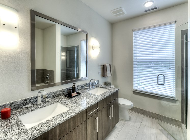 Two Bedroom Townhome Master Bathroom