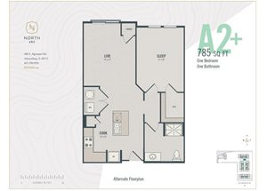 A2 Plus - One Bedroom