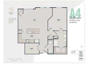 A4 - One Bedroom + Den