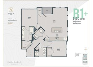 B1 Plus - Two Bedroom