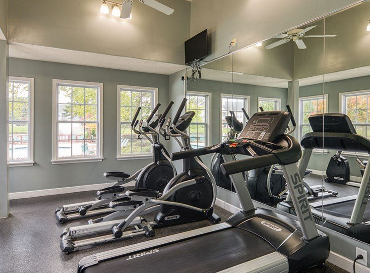 Fitness Center at Latitudes Apartments in Virginia Beach VA 23454