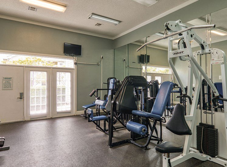 Gym at Latitudes Apartments in Virginia Beach VA 23454