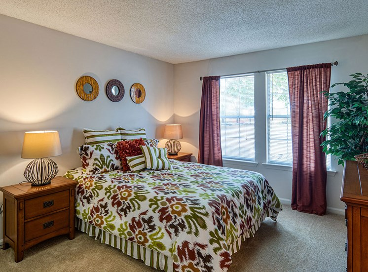 Bedroom at Latitudes Apartments in Virginia Beach