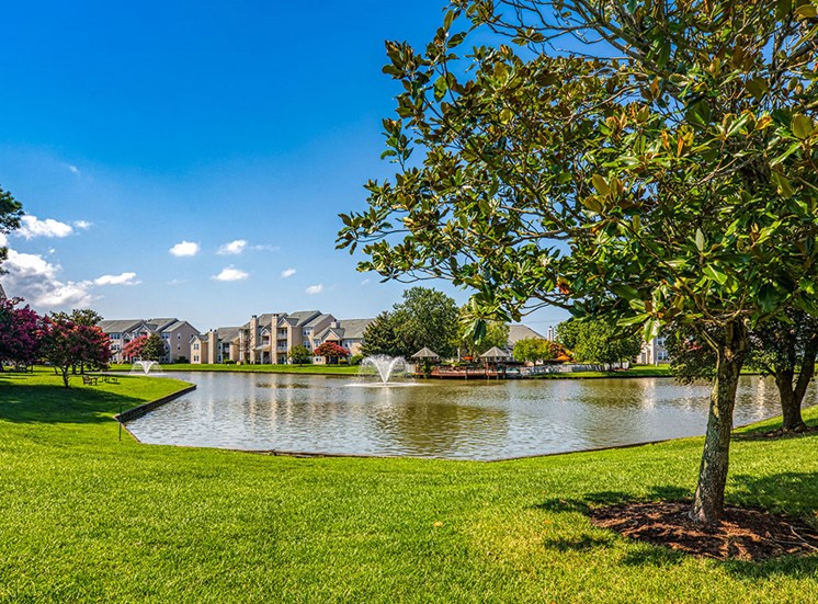 Lake at Latitudes Apartments in Virginia Beach VA 23454